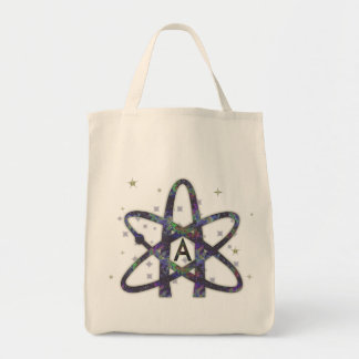 Atheist in Outer Space Tote Bags