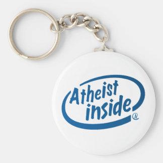 Atheist Inside Key Ring