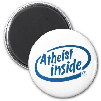 Atheist Inside Magnet