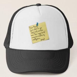 Atheist Joseph and Mary Trucker Hat