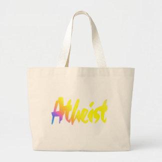 Atheist Jumbo Tote Bag