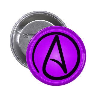 Atheist logo button