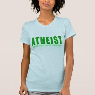 Atheist Make The Best Lovers Tee Shirt