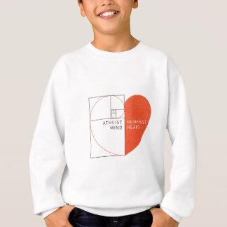 Atheist Mind, Humanist Heart Sweatshirt