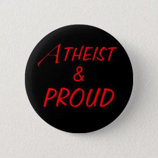 Atheist & Proud Button