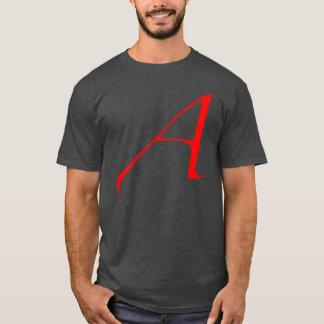 Atheist Scarlet A T-Shirt