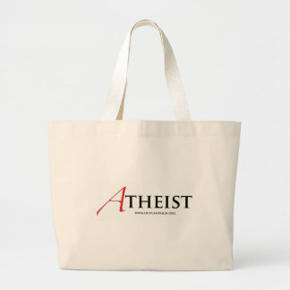 Atheist (Scarlet Letter) Tote Bag