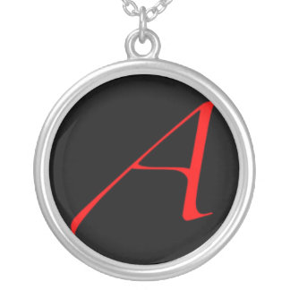 Atheist Scarlet Letter Necklace