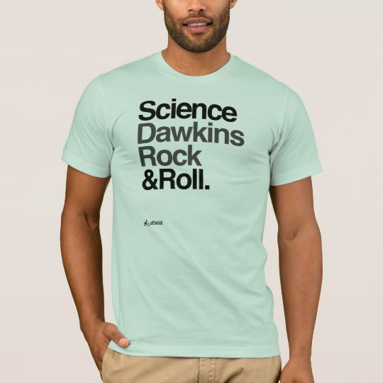 Atheist - Science Dawkins rock & roll! Bold