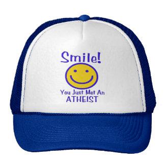 Atheist Smiley Cap