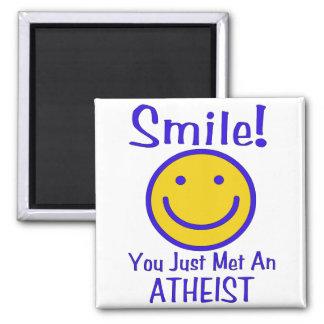 Atheist Smiley Magnet