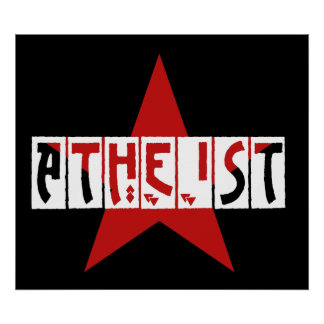 Atheist Star Poster