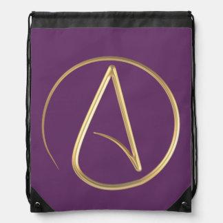 Atheist Symbol Backpack