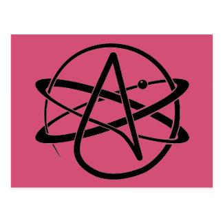 Atheist Symbol Postcard