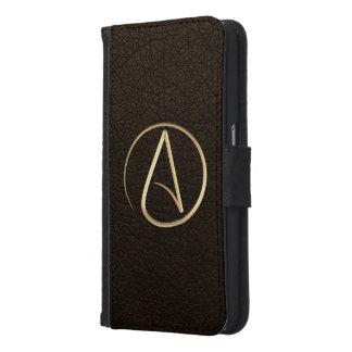 Atheist Symbol Samsung Galaxy S6 Wallet Case