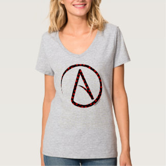 Atheist Symbol Star T-Shirt for Women