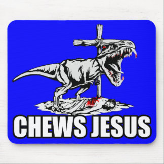 Atheist T rex Mouse Pad