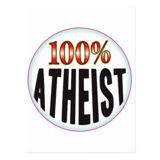 Atheist Tag Postcards