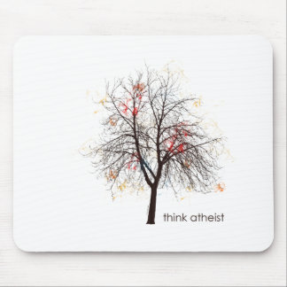 Atheist Tree Mouse Mat