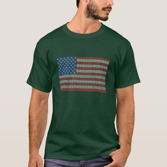 Atheist USA Flag T-Shirt