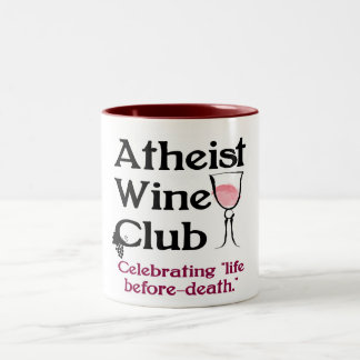 Atheist Wine Club Mug