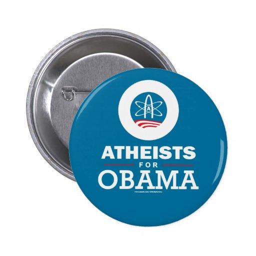 Atheists for Obama Pinback Button