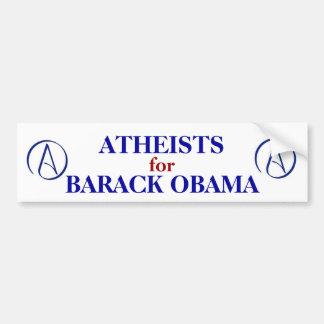ATHEISTS FOR OBAMA BUMPER STICKER