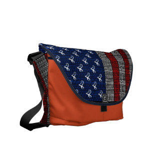 Atheist's of America Flag Courier Bag