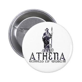 Athena 6 Cm Round Badge