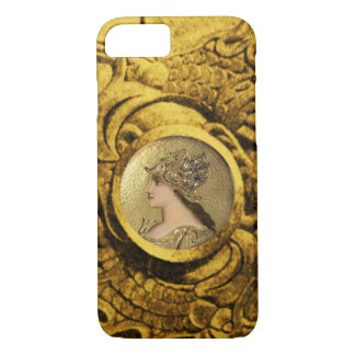 ATHENA AND FIGHTING GRYPHONS iPhone 7 CASE