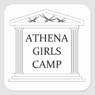 Athena Camp Bumper Sticker