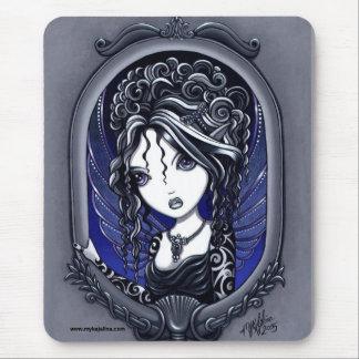 Athena Dark Elegant Tattoo Faery Mouse Mat