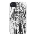 Athena Greek Goddess iPhone 4 Case-Mate Cases