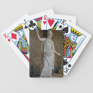 Athena, Greek, probably 5th century BC (marble) Bicycle Playing Cards