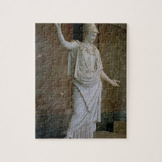 Athena, Greek, probably 5th century BC (marble) Jigsaw Puzzle