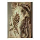 Athena Nike adjusting her sandal, c.420-420 BC Poster