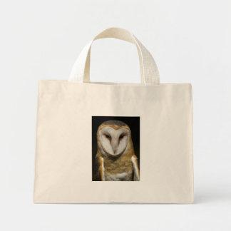 Athena the Barn Owl Tote Mini Tote Bag