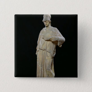 Athena with a cist, Roman copy of a 4th century 15 Cm Square Badge