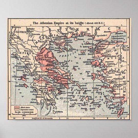 Athenian Empire Poster