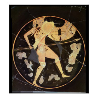 Athenian red-figure kylix poster