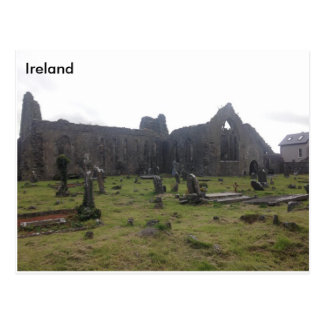 Athenry Dominican Priory. Co Galway, Ireland Postcard