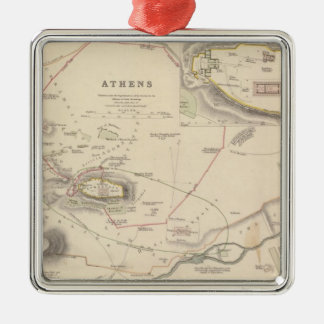 Athens, Acropolis Christmas Ornament