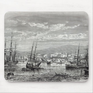 Athens: general view of the Piraeus, Mouse Mat