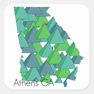 Athens Georgia Stickers