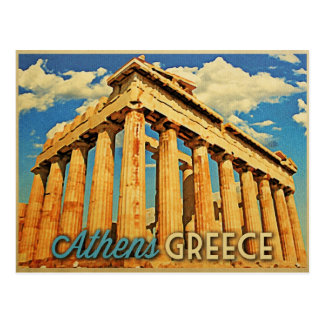 Athens Greece Parthenon Postcard