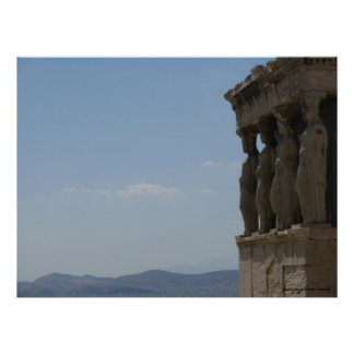 Athens Greece photography poster