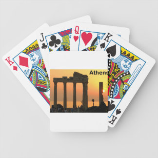 Athens Greece (Sounion) Temple of Apollo (St.K) Bicycle Playing Cards
