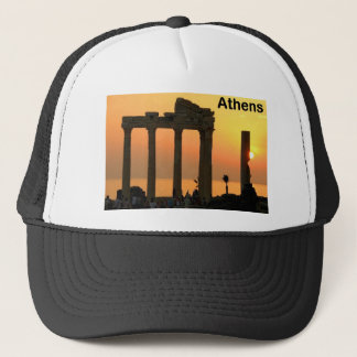 Athens Greece (Sounion) Temple of Apollo (St.K) Trucker Hat