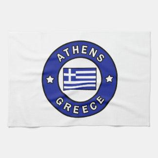 Athens Greece Tea Towel