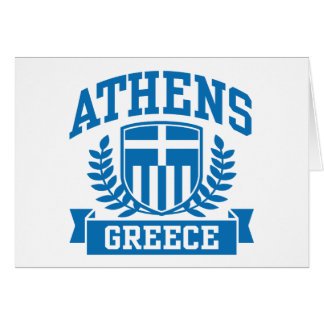 Athens Greeting Card